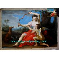 oil painting, handmade oil painting, classical oil painting thumbnail image