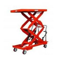 Sell Double Scissor Doule Cylinder Lift Table thumbnail image