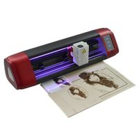 C16-E 4.3inch touch screen craft vinyl cutter plotter with laser engrave part
