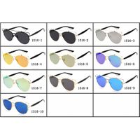 High Quality Fashion sunglasses Mens Womens Wayfarer Shades Glasses Eyewears Colored Mirror LensWome