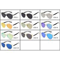 High Quality Fashion sunglasses Mens Womens Wayfarer Shades Glasses Eyewears Colored Mirror LensWome