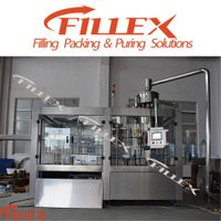 Small Bottle Water Rinising Filling Capping Machine
