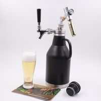 2 liter Stainless steel beer bottle ,mini keg,beer growler