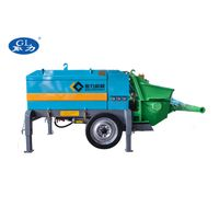 Wet concrete pump / concrete shotcrete machine