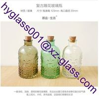Innovation new style China supplier fresh glass diffuser bottle, glass bottle for decorative wholesa