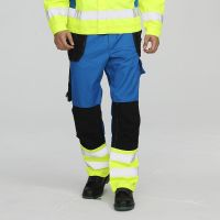 Competitive high visible safety work pants