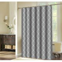 New pattern digital printing shower curtain thumbnail image