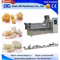 Automatic 2d potato pellet chips crispy making machine processing line
