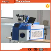 Optic high precision jewelry laser welding machine for gold silver