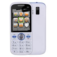 Original 2.0-inch Single SIM Bluetooth 3G Senior Phones with facebook/twitter