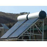 Porcelain Enamel Pressurized Heat Pipe Solar Water Heater thumbnail image
