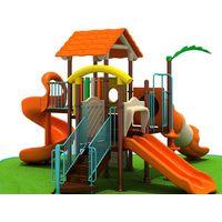 2013 Popular baby outdoor slide fun Safety & humanistic design playgound