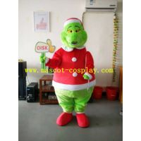 OISK  Customization of how the grinch stole Christmas mascot adult size