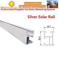Newsunpower Silver Aluminum Rail for PV System