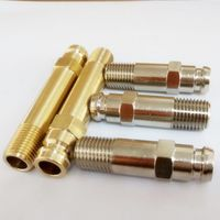 HASCO Nickel brass long nipple thumbnail image
