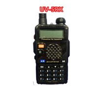 Portable 2 way radio with long distance Baofeng UV-5RX handheld transceiver