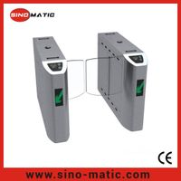 Shenzhen China mirror finish half height sliding barrier gate turnstile