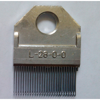 warp knitting textile machine spare part needle block- GUIDE