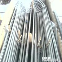 Stainless steel U bend tubing