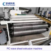PC corrugated sheet extrusion line