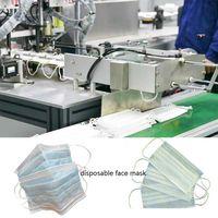 Automatic disposable face mask making machine thumbnail image