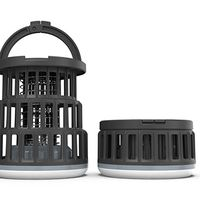 Foldable Camping Lantern + Bug Zapper Mosquito and Fly Killer Rechargeable LED Portable Collapsible thumbnail image
