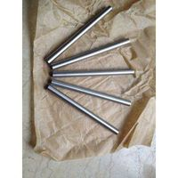 High hardness and wearing resistant cemented carbide rod