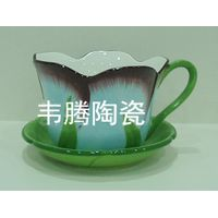 Best wamiton porcelain flower pot and saucer planter