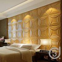 Natrual material empaistic design 3d wallpaper