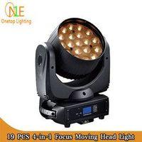 DJ Light Factory One Top LED Light 19pcs 12w big bee eye beam moving head light zoom effect lighting thumbnail image
