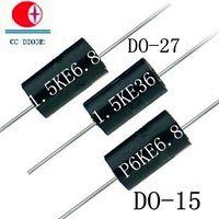 Free Samples 1500W DO-27 Case TVS Chip Rectifier Diode 1.5KE36A/CA