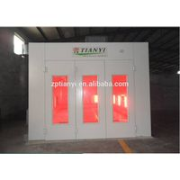Tianyi car spraying machine/auto body paint booth with CE /powder coating booth thumbnail image