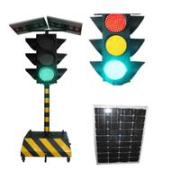 Solar Powered Mobile Traffic lights A ;solar traffic signal thumbnail image