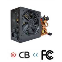 400W, Standard, Desktop Computer, Power Supply Switch with 12cm Fan Active APFC