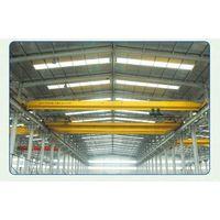 Best price single girder monorail traveling eot crane 2ton