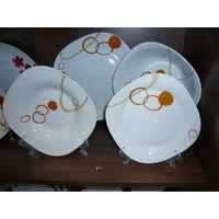 porcelain square dinner sets
