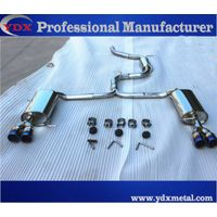 stainless steel car engine exhaust muffler pipe set