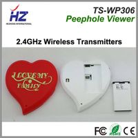 zinc alloy 3.5 inch TFT color  Clear night vision wireless door viewer