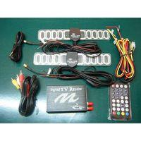 Car DVB-T MPEG-4 HD dual tuner Digital TV receiver