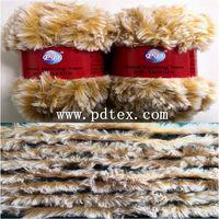 Faux fur yarn, Fur yarn, Yarn