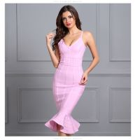 Ladies Sexy Dress Fashion Bandage Dress