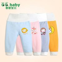 New2015 Cotton Autumn Winter Baby Pants High Waist Baby Boy Girl Clothing Romper Infant Pants thumbnail image