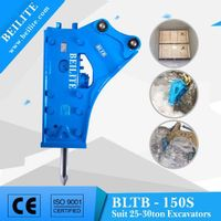 With CE certificate 150mm chisel hydraulic breaker BLTB150s for mining machinery and equipment