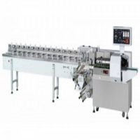 H450F made in taiwan high speed labor saving shrink automatic chocolate bar wrap sealing machinery