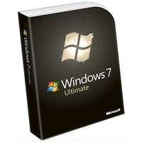 Microsoft Windows 7 Ultimate Operating System Software - English, DVD