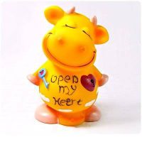 Resin Cow  Money Box
