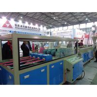 Quadruple PVC pipe extrusion production line thumbnail image