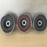 Mini abrasive flap disc