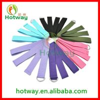 Hot sale 100% Factory Yoga Strap& Belt with low Price for Exercise