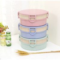 plastic snacks basket pp high quality double